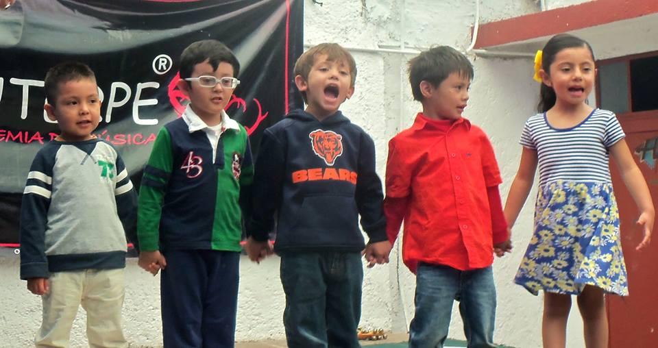 Clases de Música y canto en la infancia