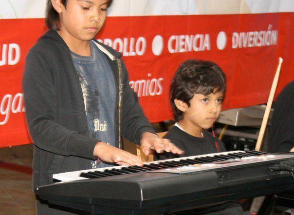 clases de musica para niños de 6-10 años